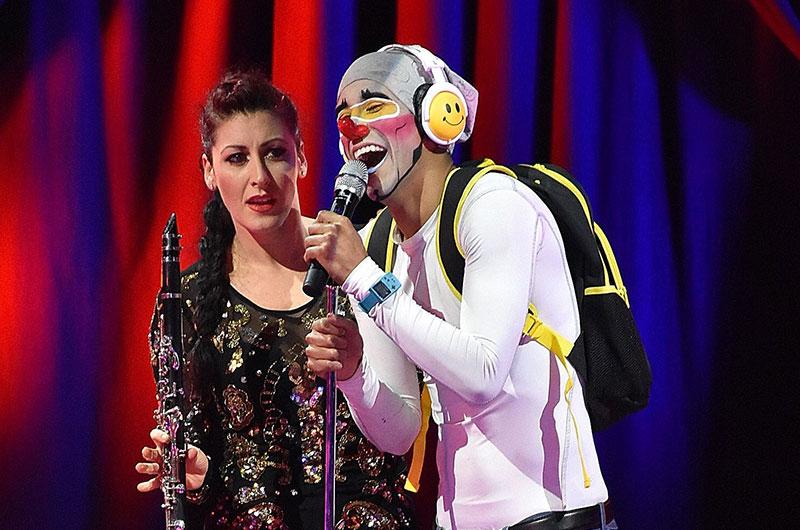 Clown-Duo